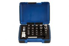 Laser 23 Piece Torx Security/Tamperproof Bit Set 5 Sided + 6 Sided Torx.
